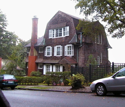 "The home of ""Auntie Jo"" on Neperan Road, Tarrytown"